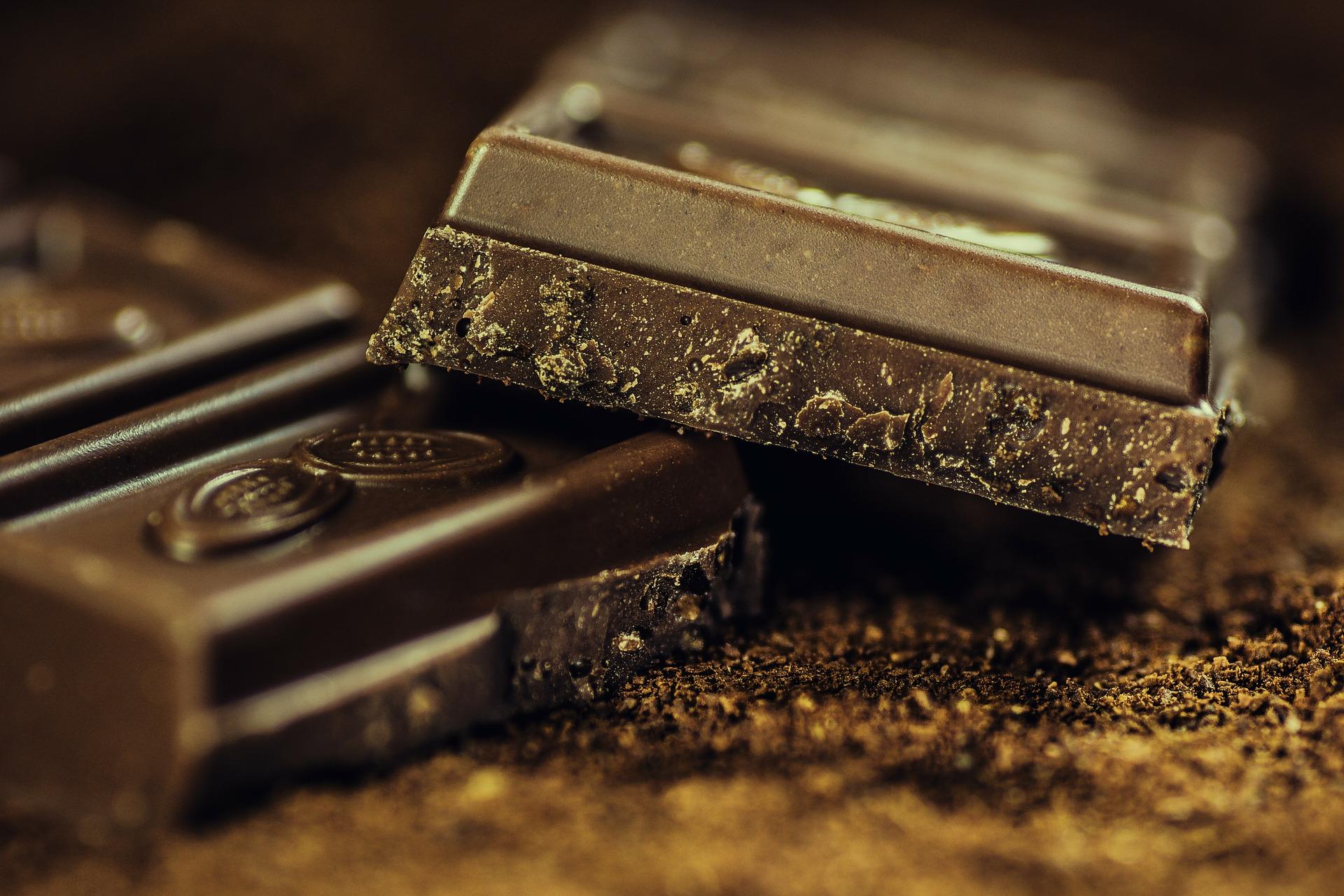 Choklad innehåller flavoner